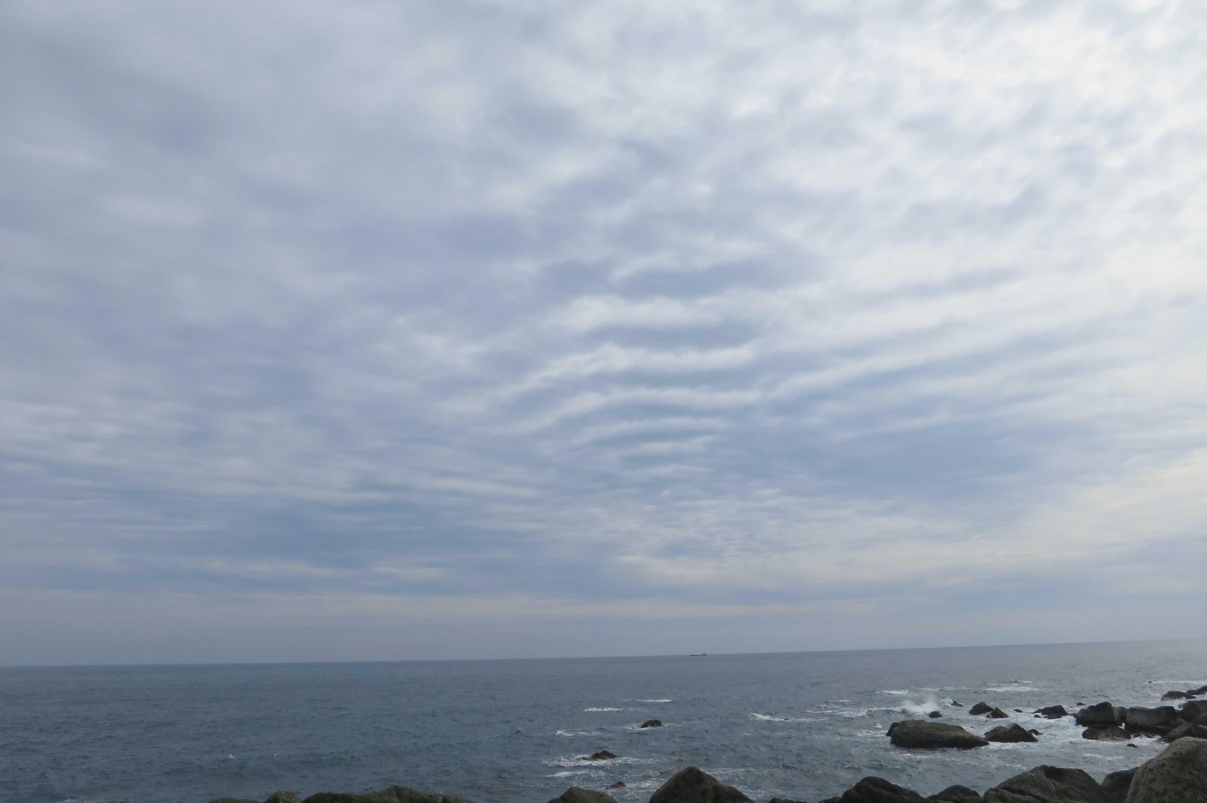 「空」と「海」 - 室戸岬