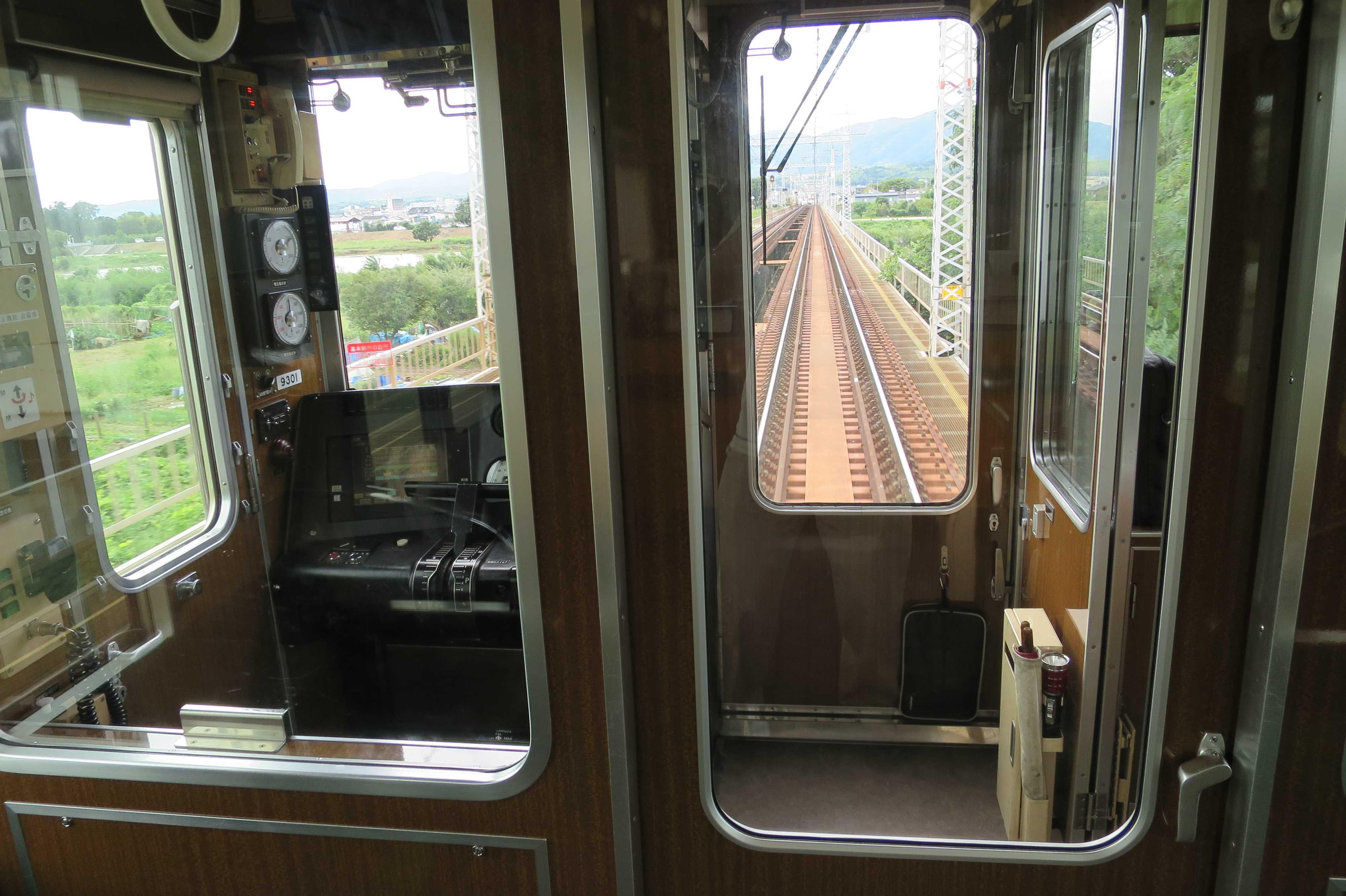 阪急京都線の線路(車窓)