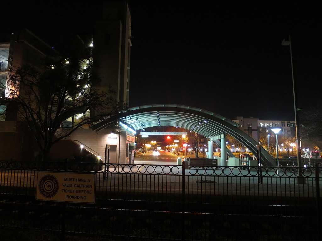 カルトレインのサニーベール駅