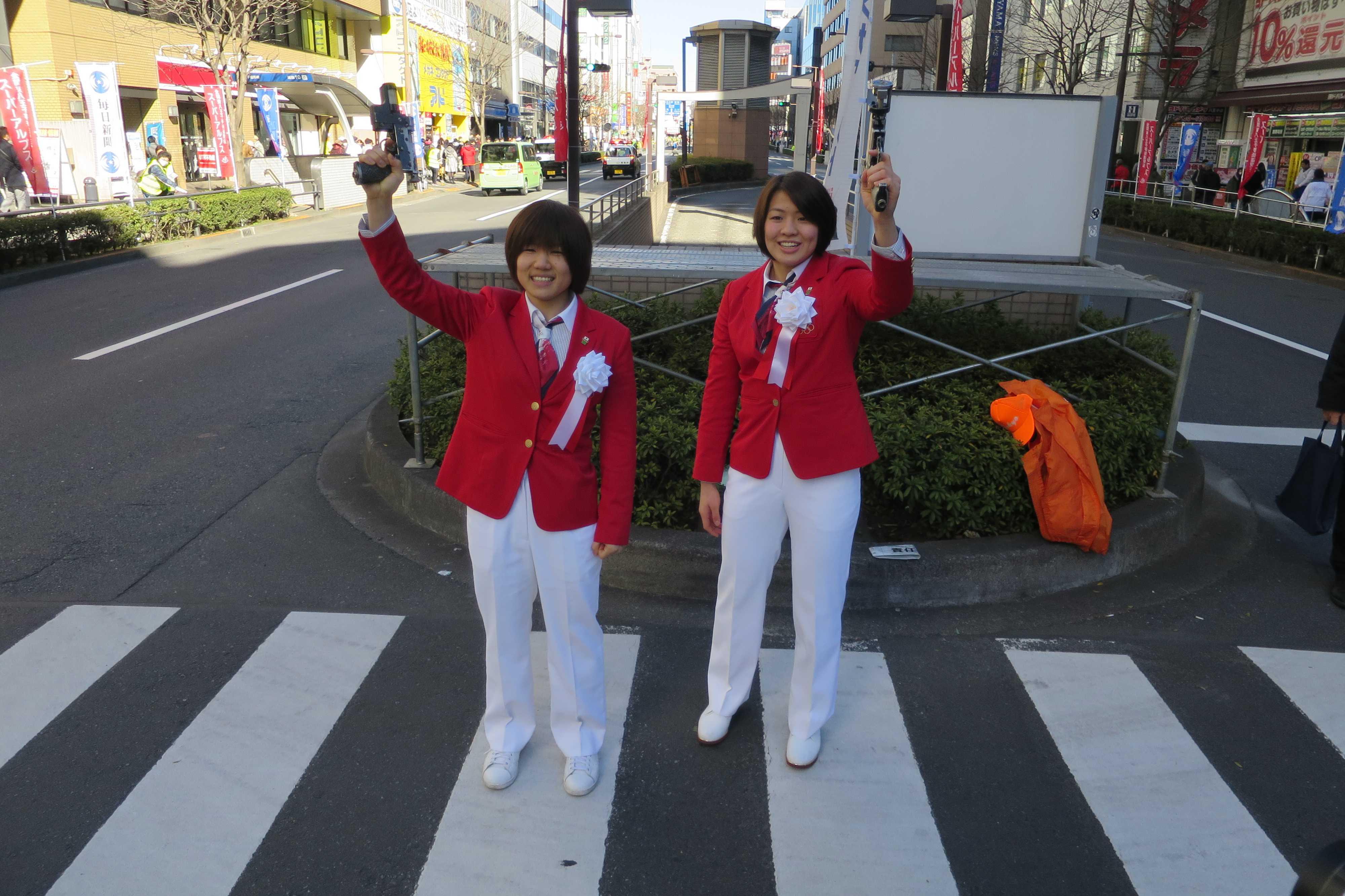 女子柔道オリンピック選手・中村美里と田代未来