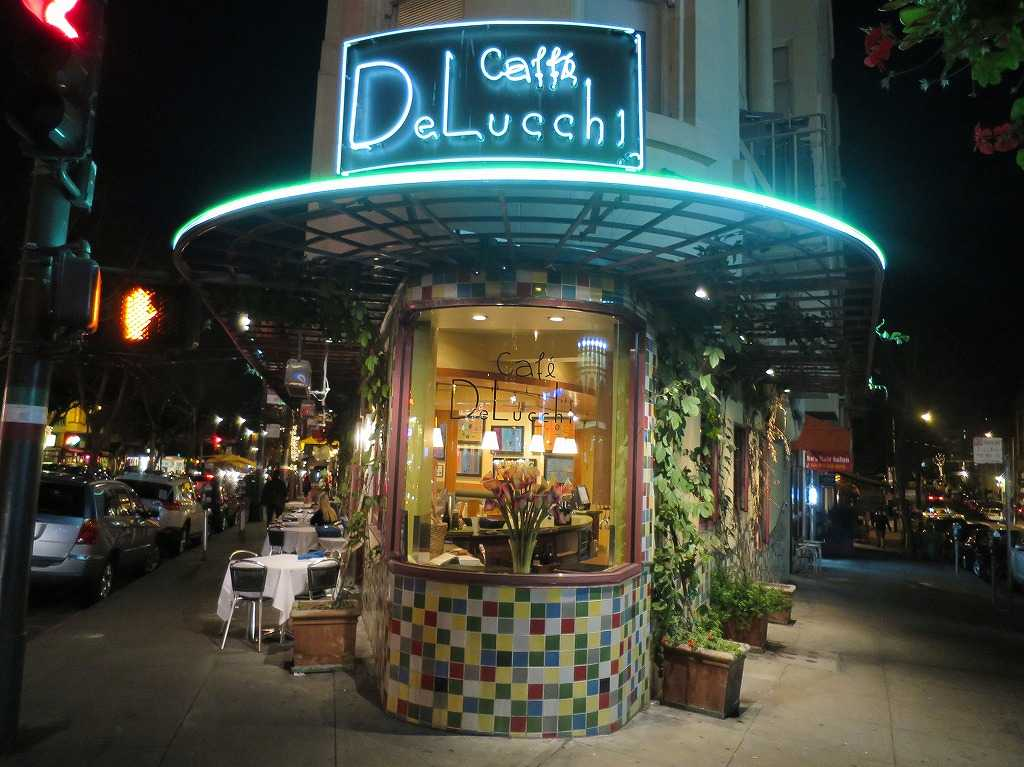 サンフランシスコ - 街角のカフェ