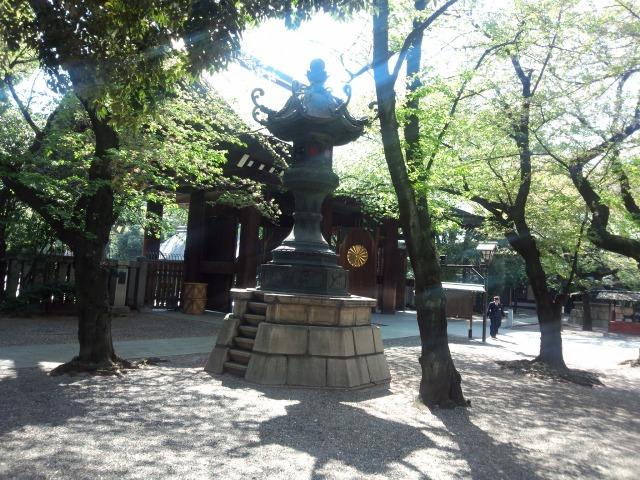 靖国神社の燈籠