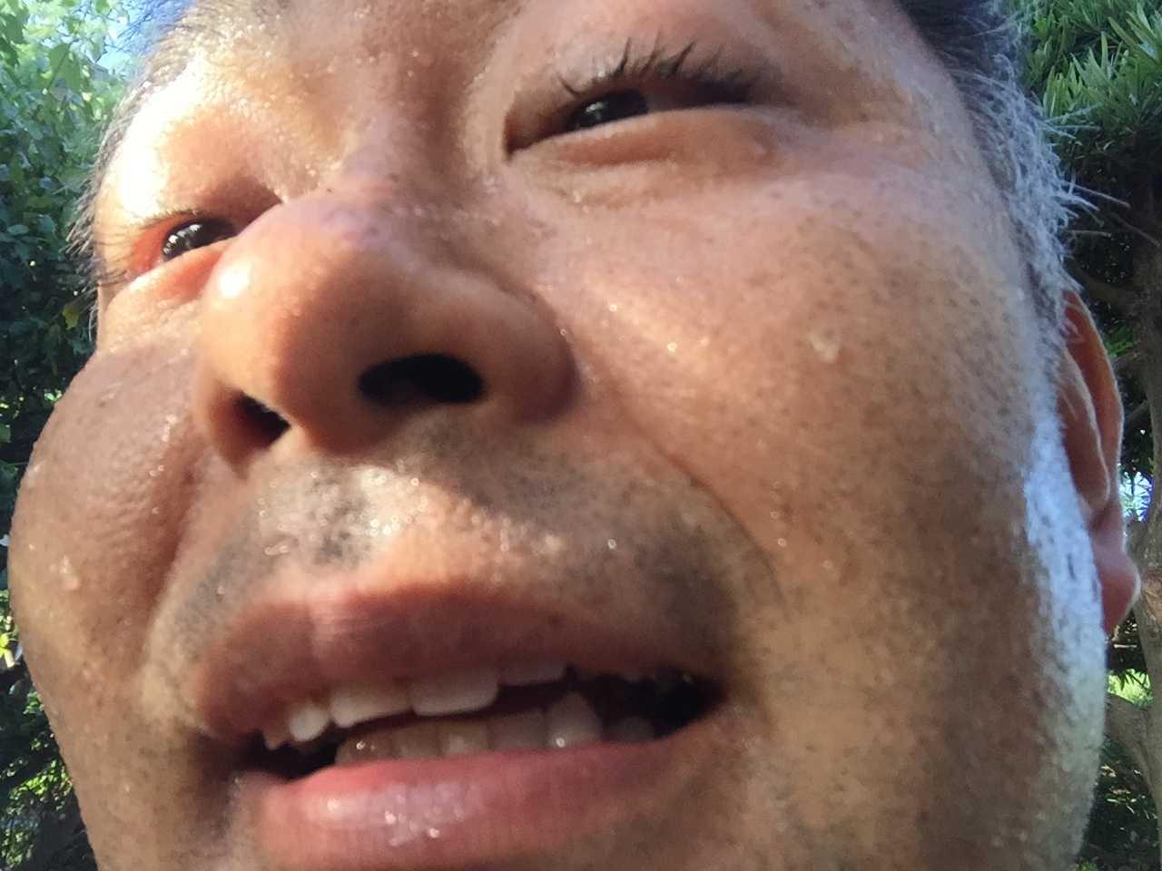 村内伸弘 - 恍惚の表情