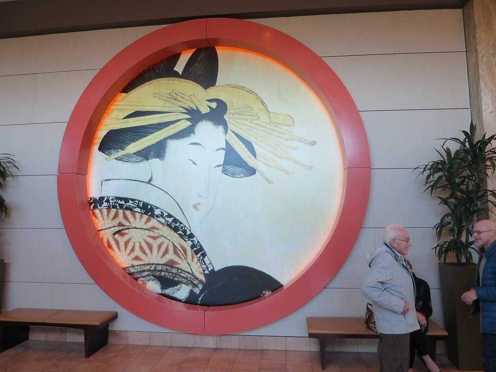 サンフランシスコ - 喜多川歌麿の美人画