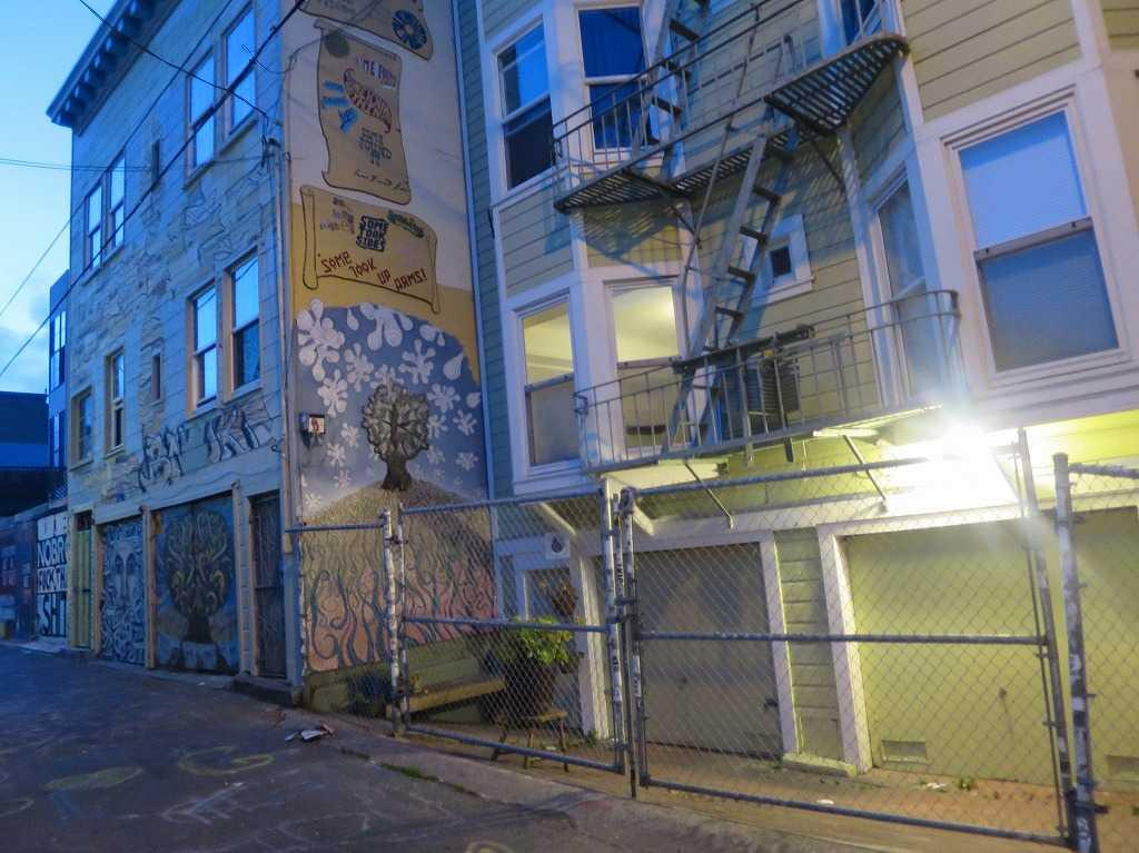 壁画ビル - サンフランシスコ・ミッション地区
