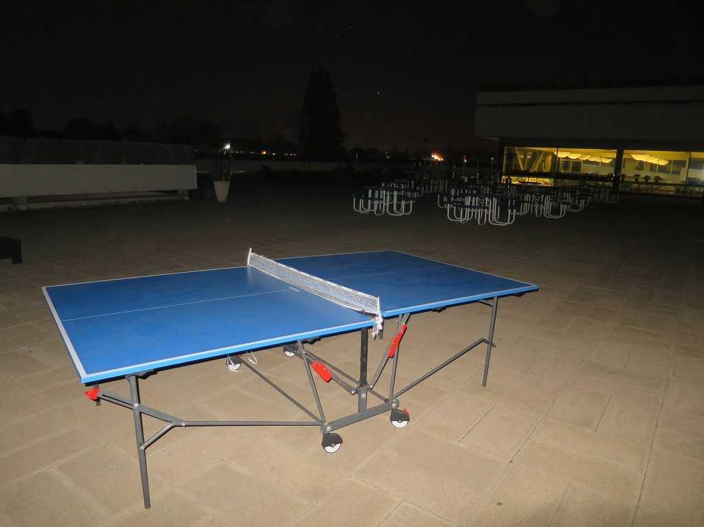 プラグ・アンド・プレイ テックセンター - 卓球台