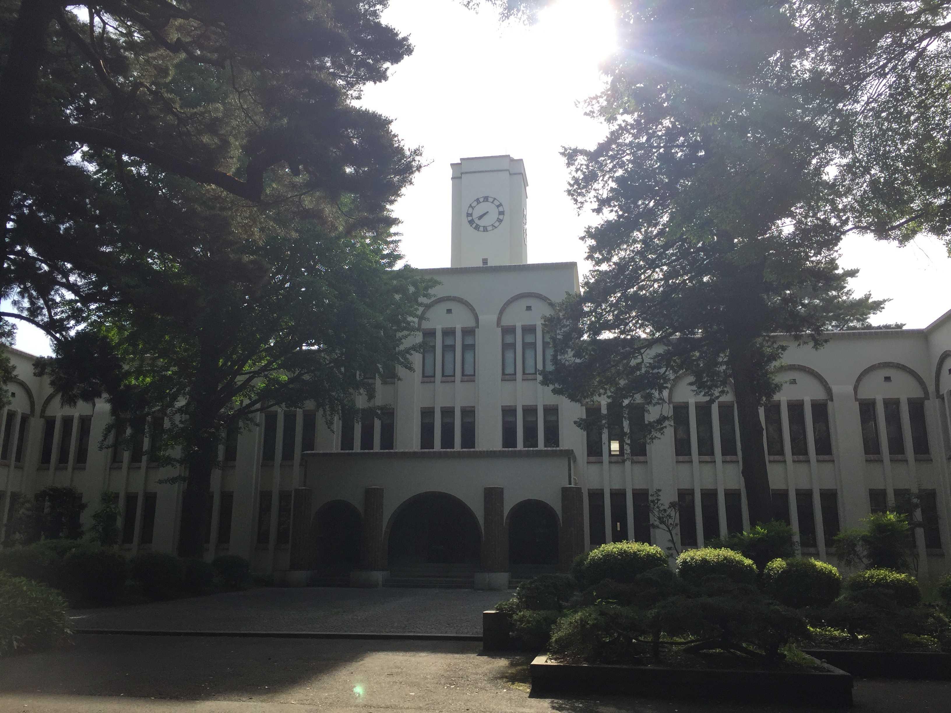 東京農工大学のケヤキ並木と農学...