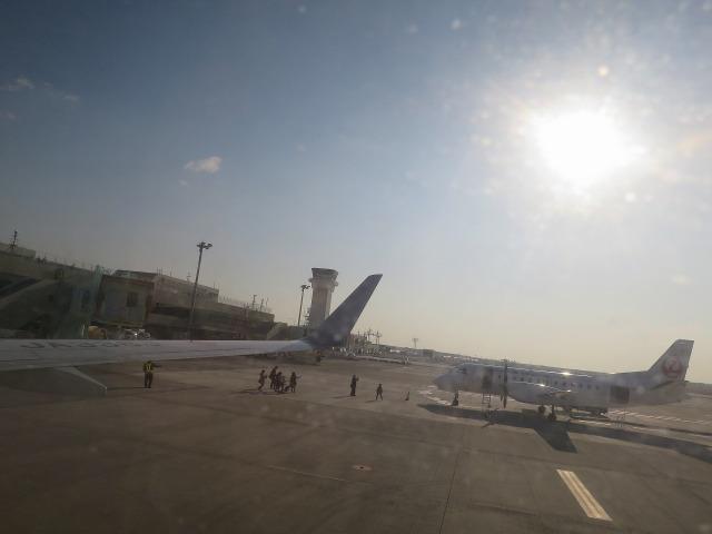 高知龍馬空港の太陽