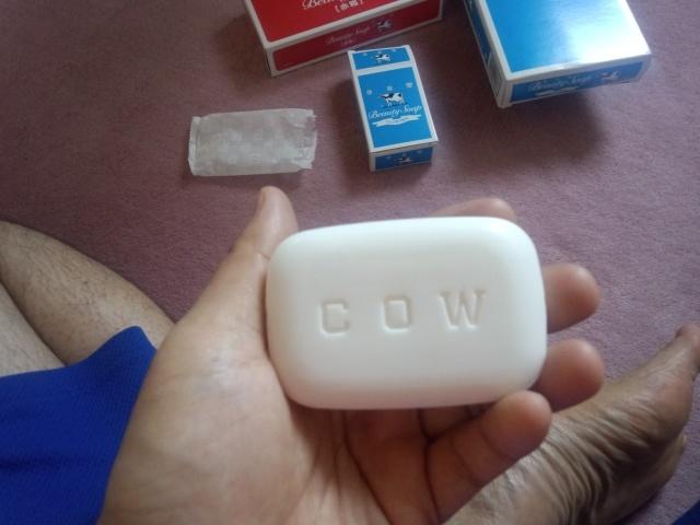 牛乳石鹸青箱の中身