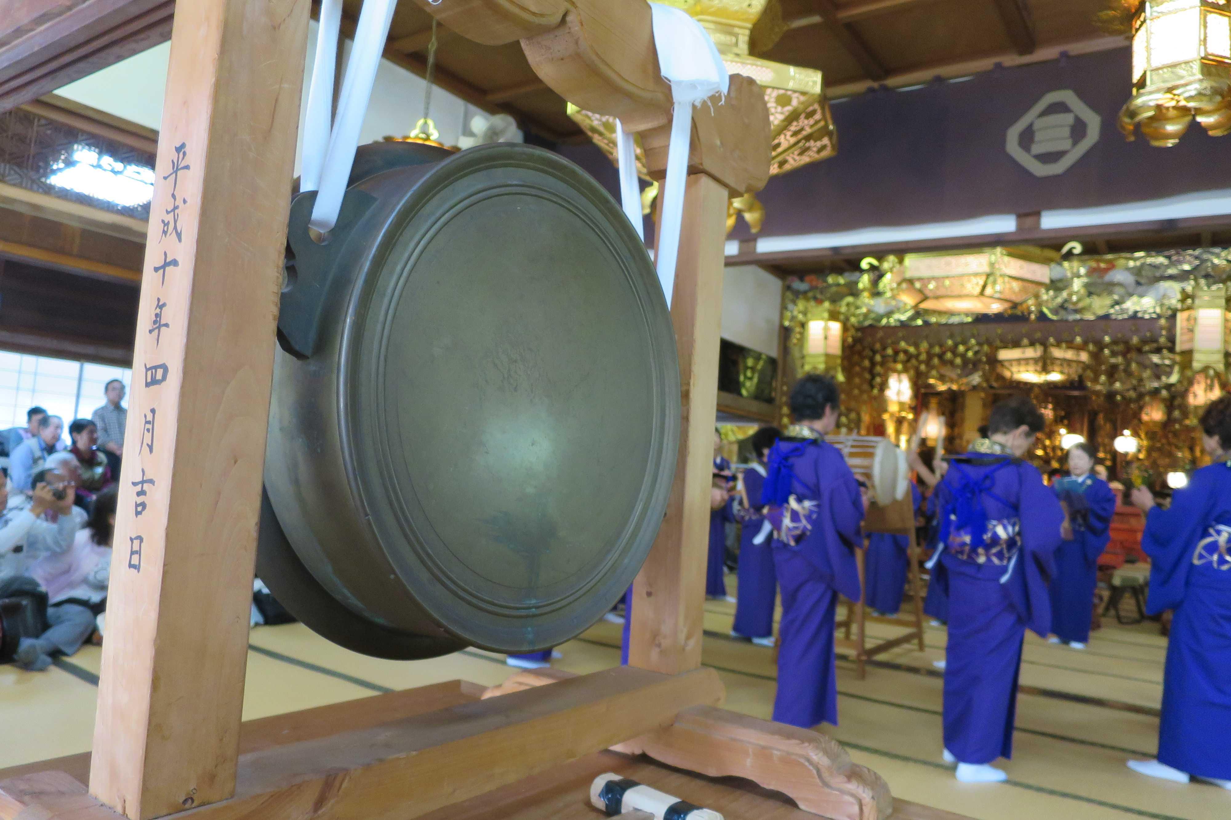 無量光寺の踊り念仏 - 大きな鉦
