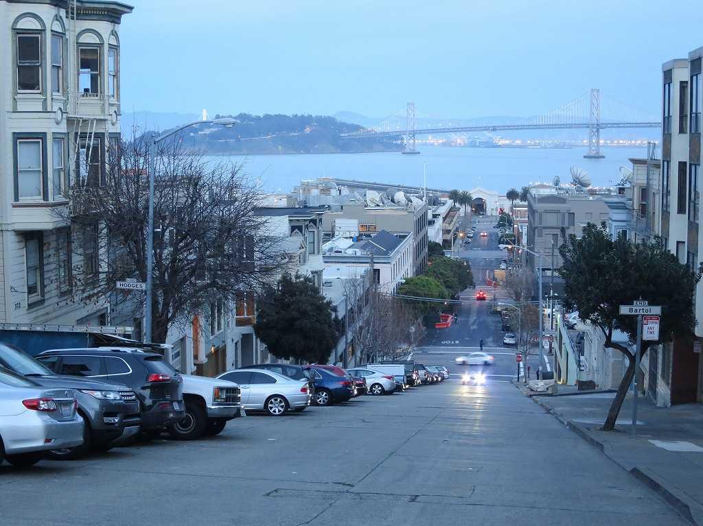 サンフランシスコ - 美しい坂