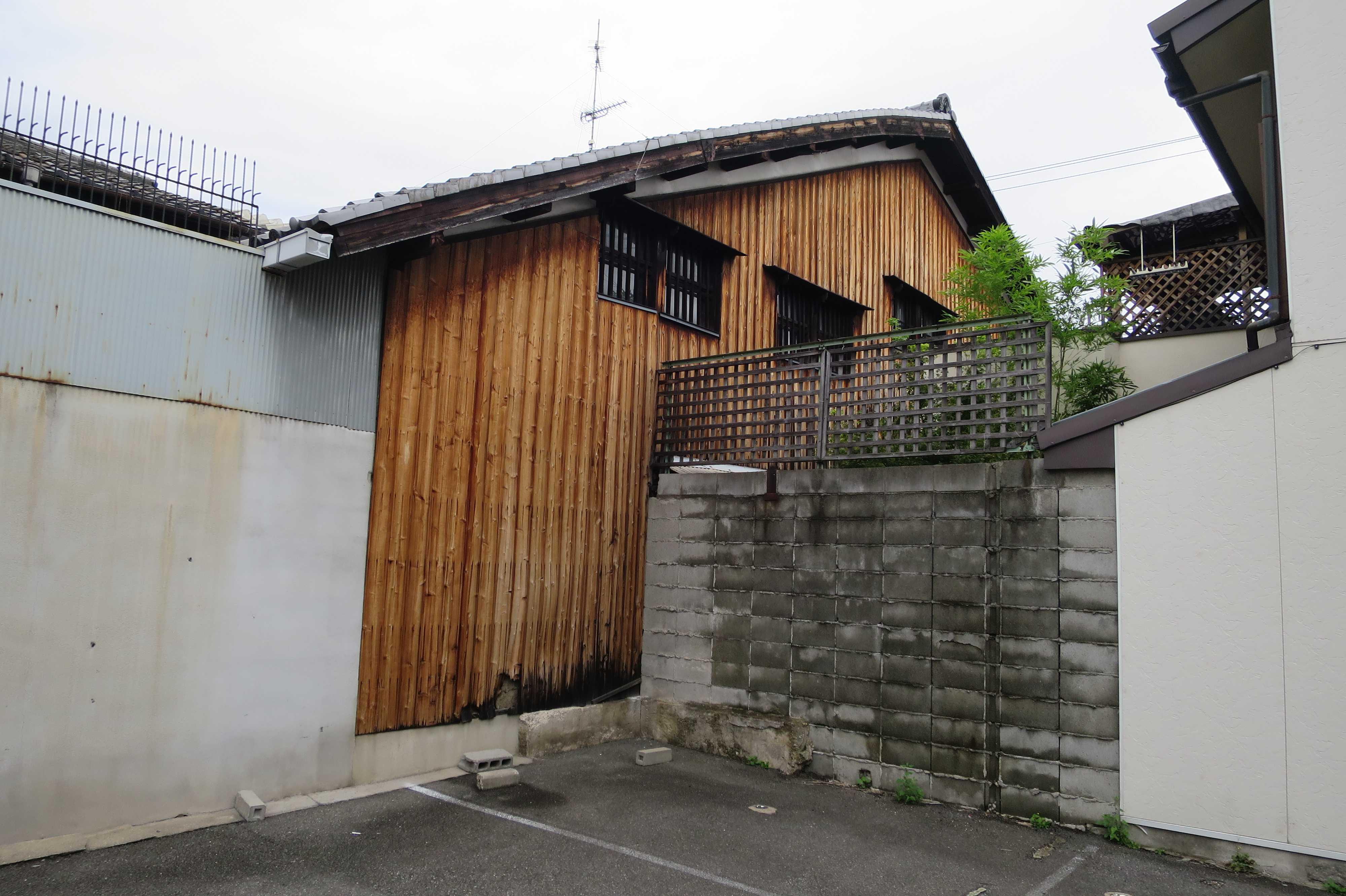 京都 - 板壁の家