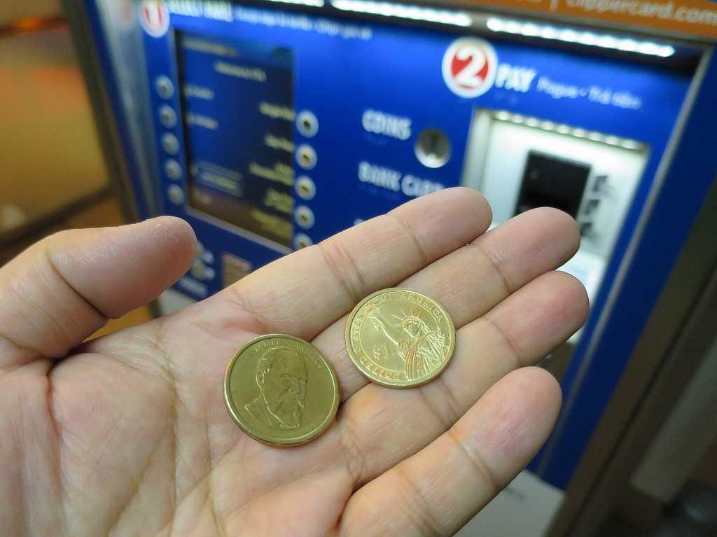 自由の女神の 1ドルコイン