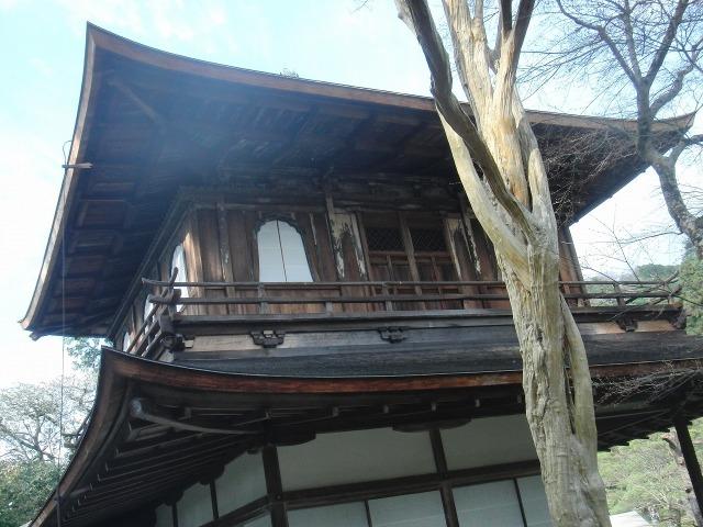 銀閣寺の建物