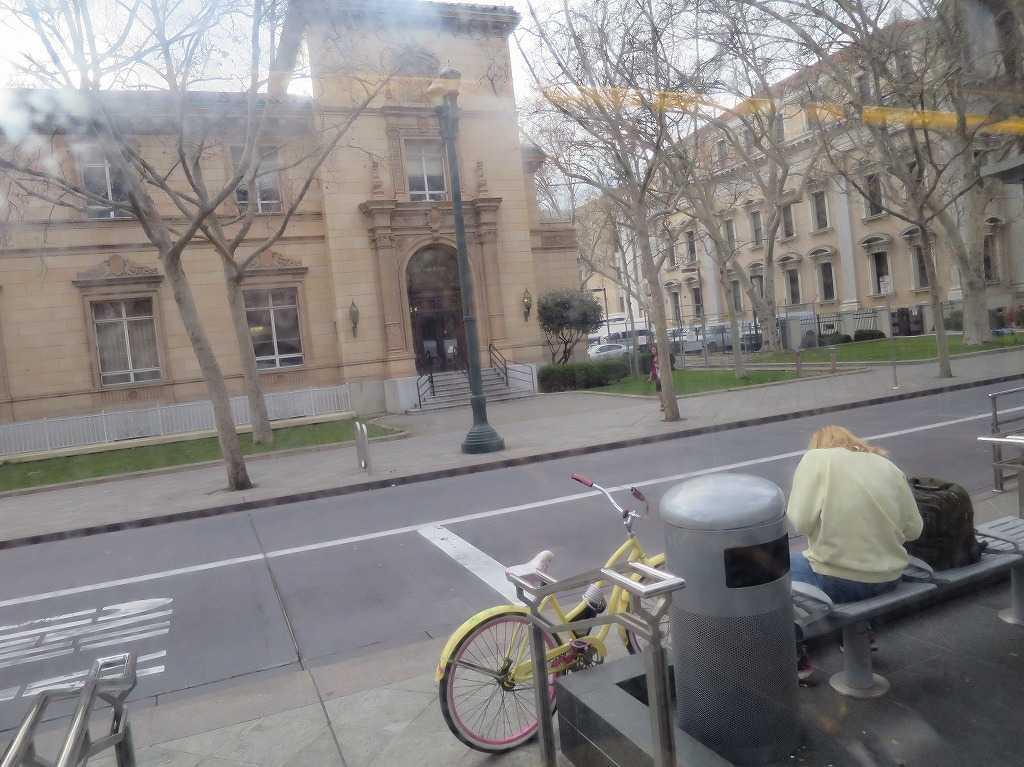 サンノゼ - VTAライトレールの車窓