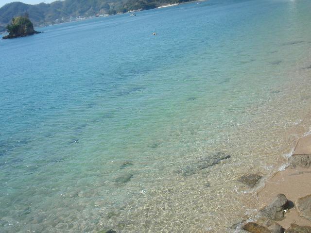 透き通ったきれいな瀬戸内海
