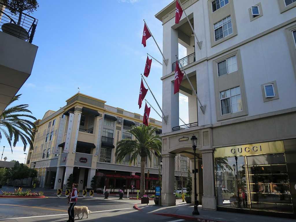 サンノゼ - ショッピング街 サンタナ・ロウ(Santana Row)