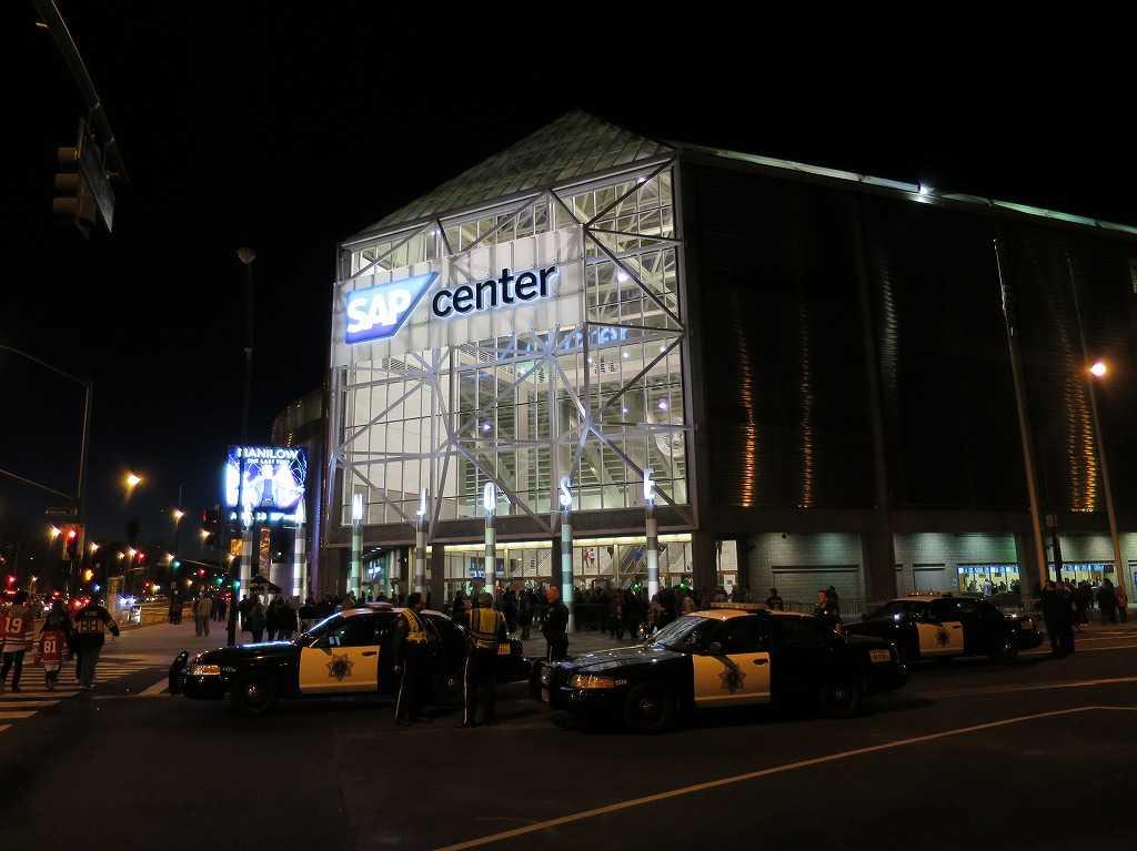 サンノゼ・シャークスの本拠地「SAPセンター・アット・サンノゼ」