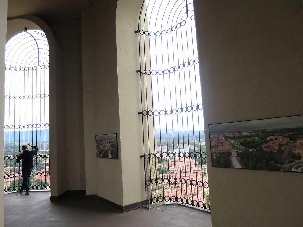 スタンフォード大学 - フーバータワーの展望デッキ