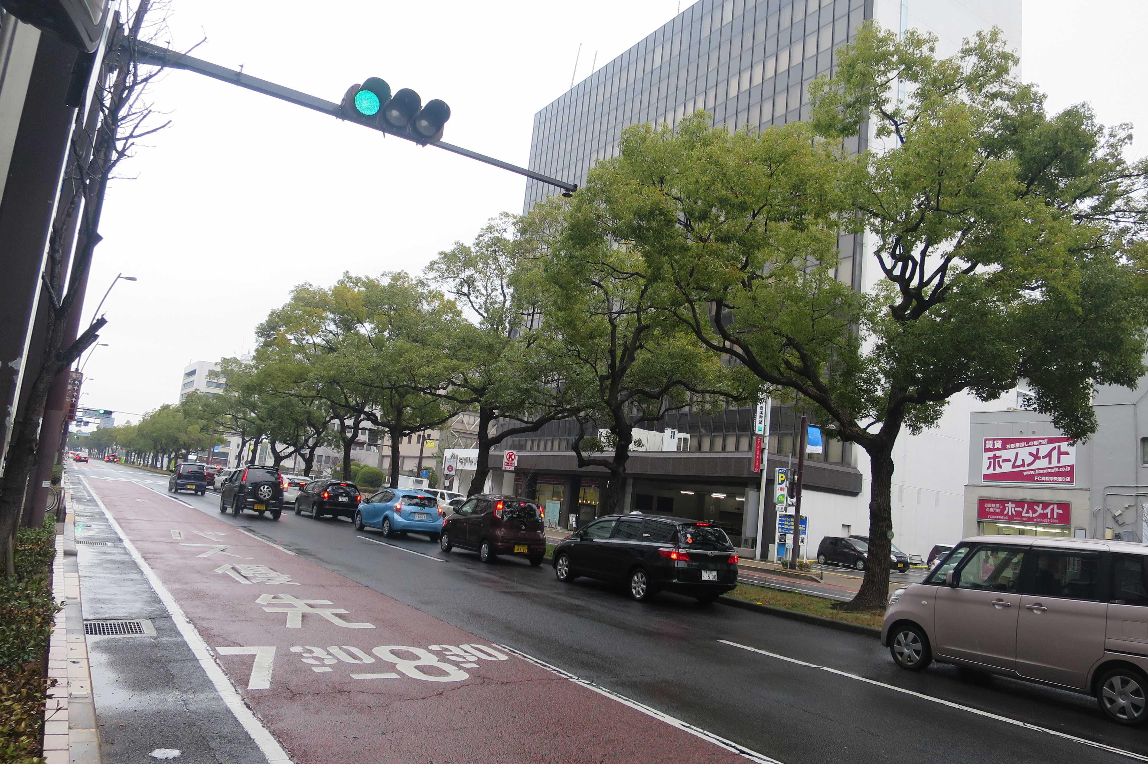 高松市中央通り