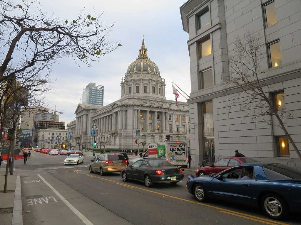 サンフランシスコ・シティホール(City and County of San Francisco City Hall)
