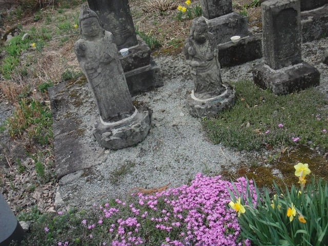 福島県檜枝岐村 - 石像