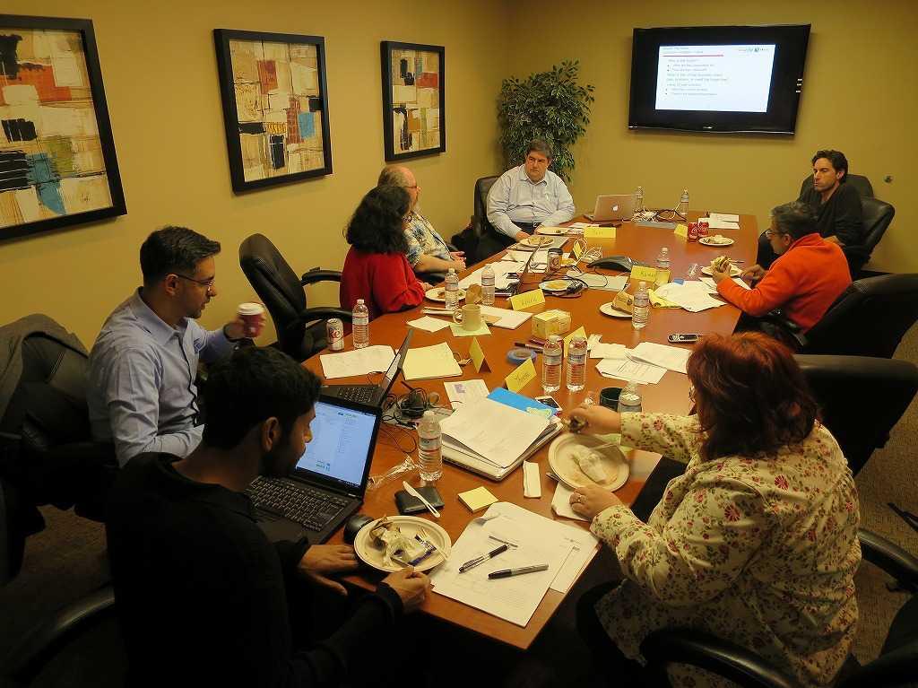 有料ワークショップ「From Customer Interviews to Enterprise Sales Workshop」の様子