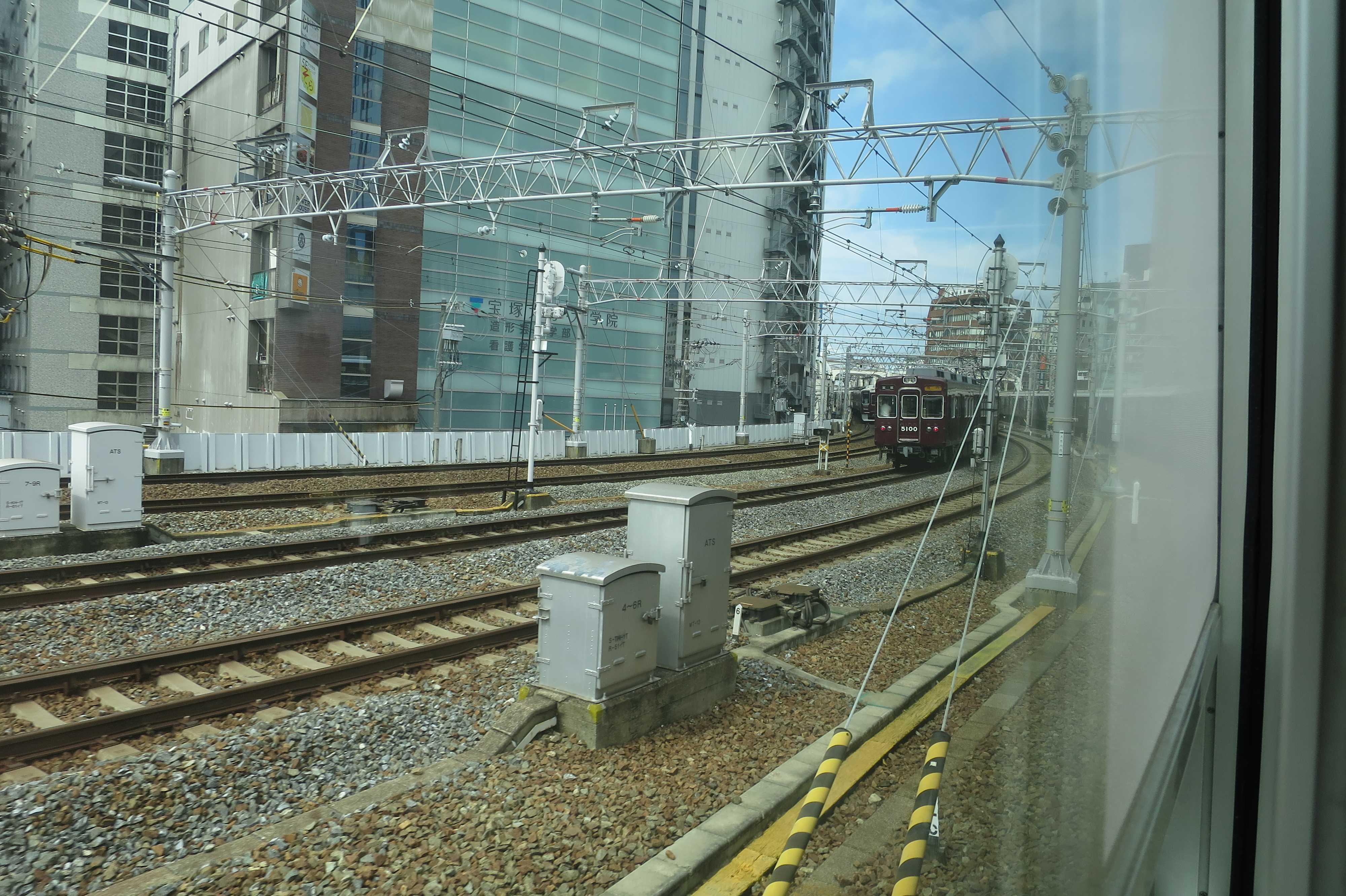 阪急京都線の車窓