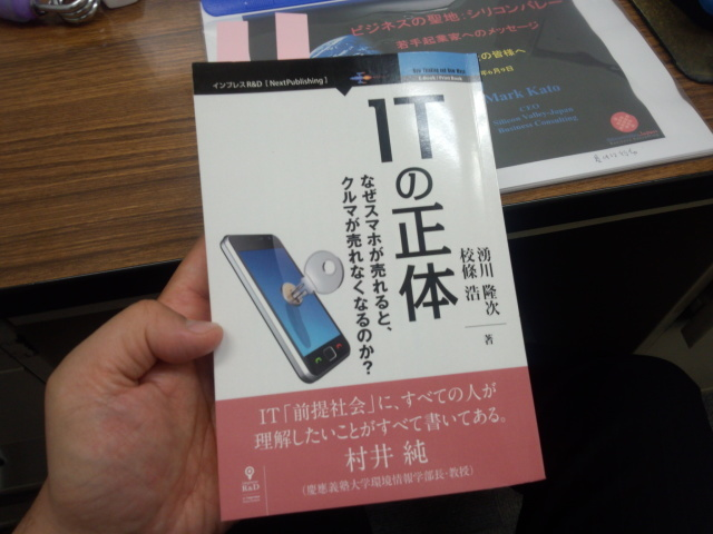 ITの正体  湧川 隆次&校條 浩 著 (NextPublishing)