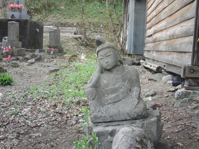 福島県檜枝岐村の仏像