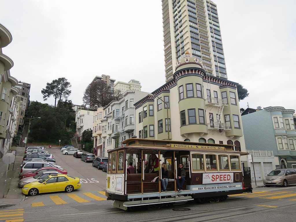 サンフランシスコ - ケーブルカー