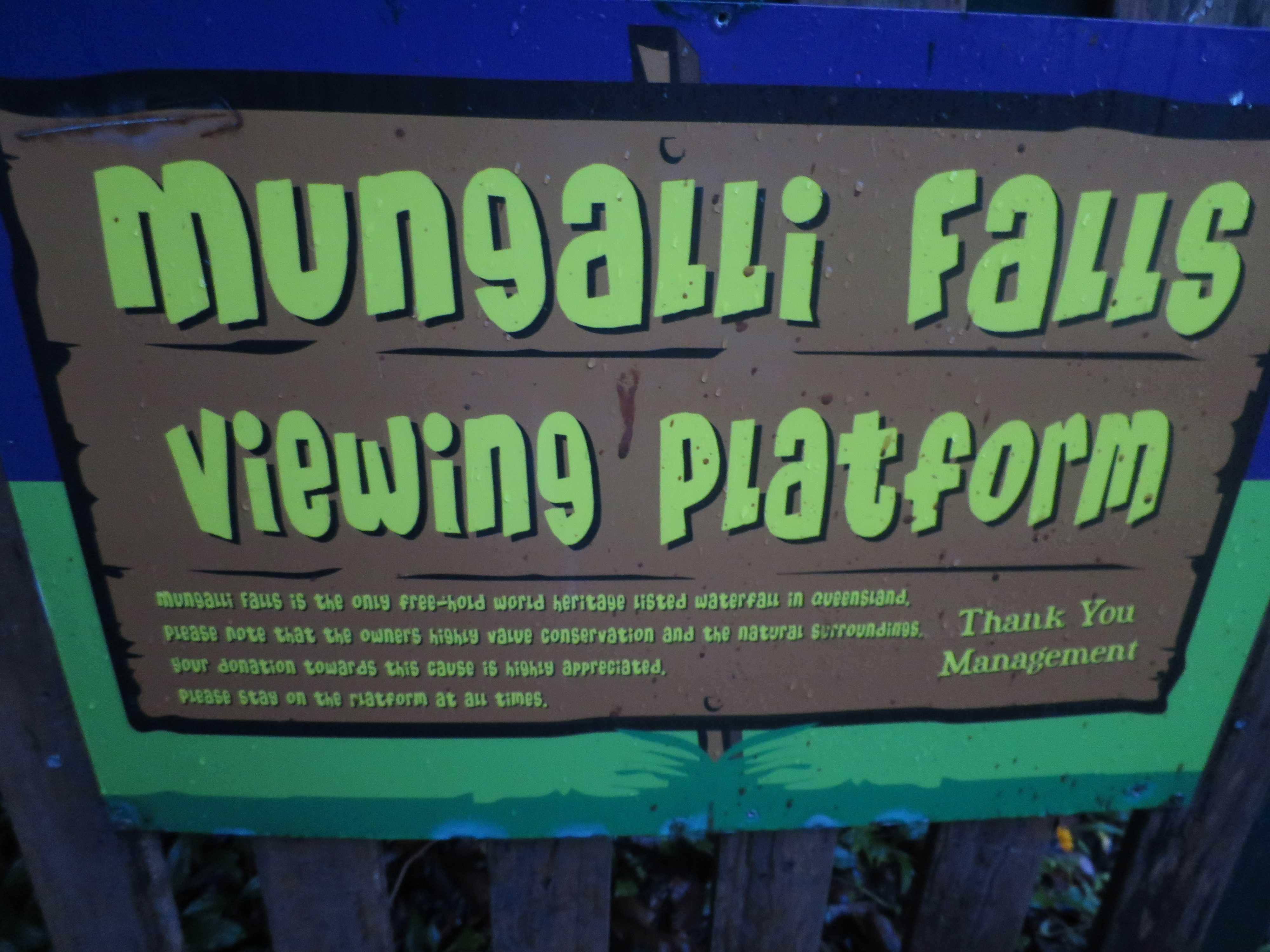 マンガリーフォールズ / Mungalli Falls