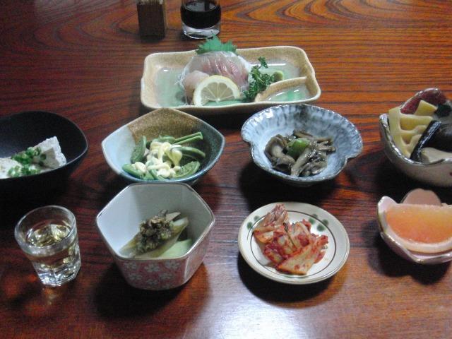 吉田屋の夕食