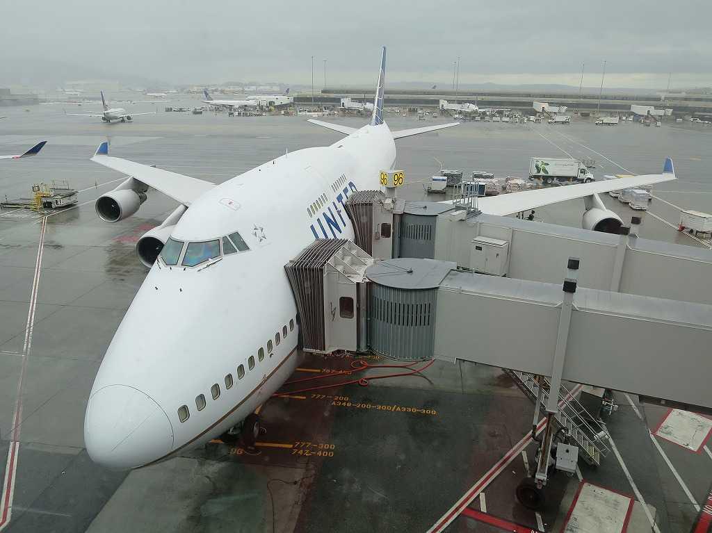サンフランシスコ国際空港 - UNITED(ユナイテッド航空)