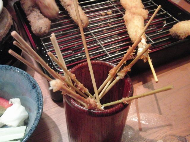 串カツの串