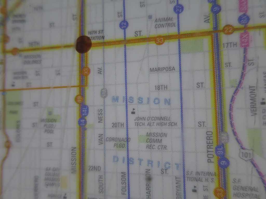 サンフランシスコ - MISSION DISTRICT(ミッション地区)