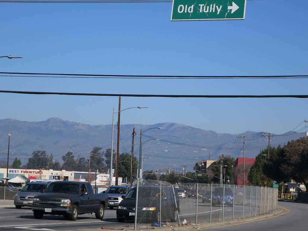 カリフォルニアの山々