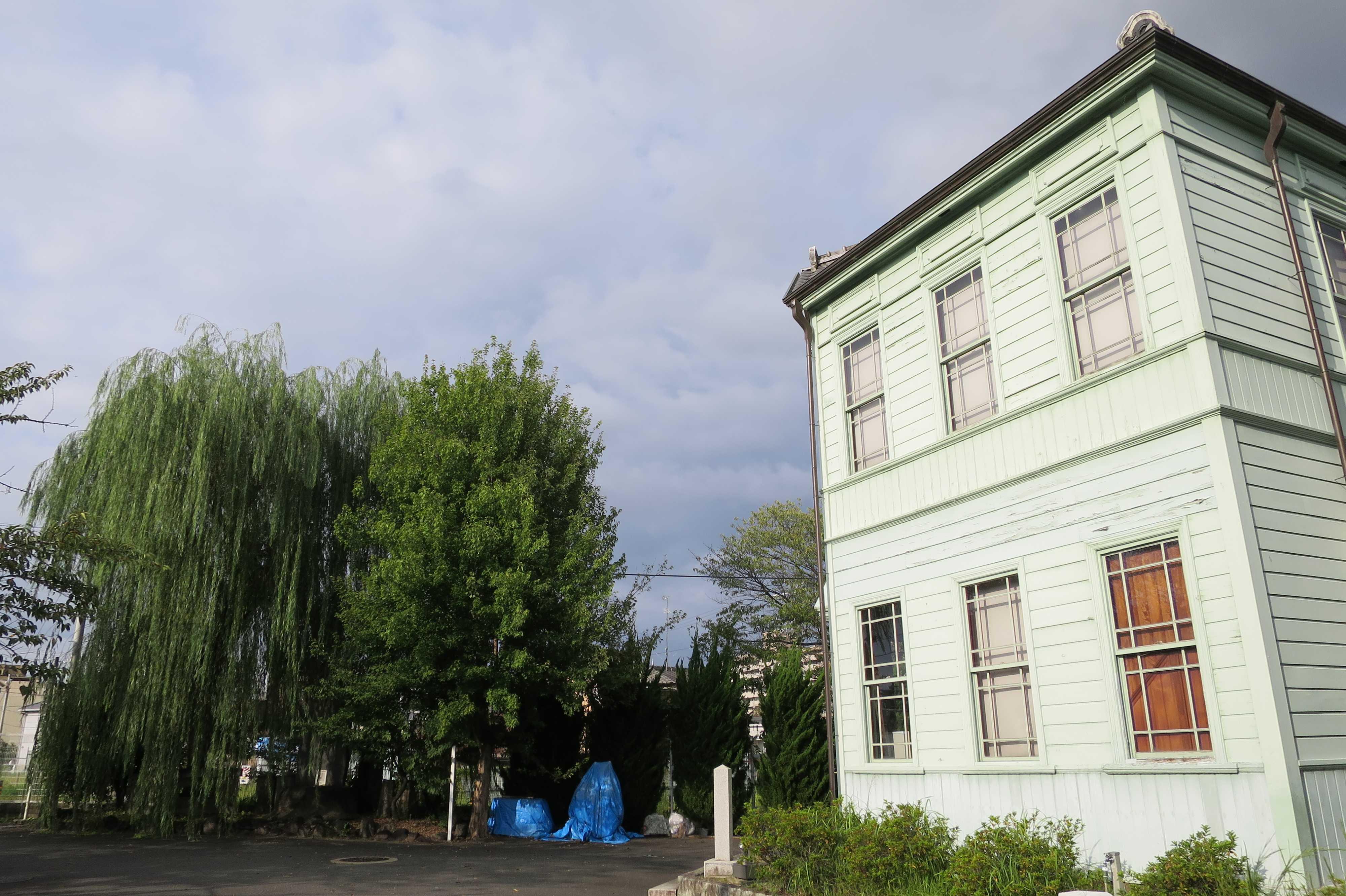 京都・崇仁地区 - 柳原銀行記念資料館の側面