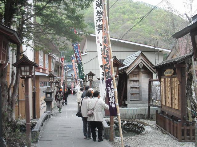 檜枝岐歌舞伎、開場前の様子