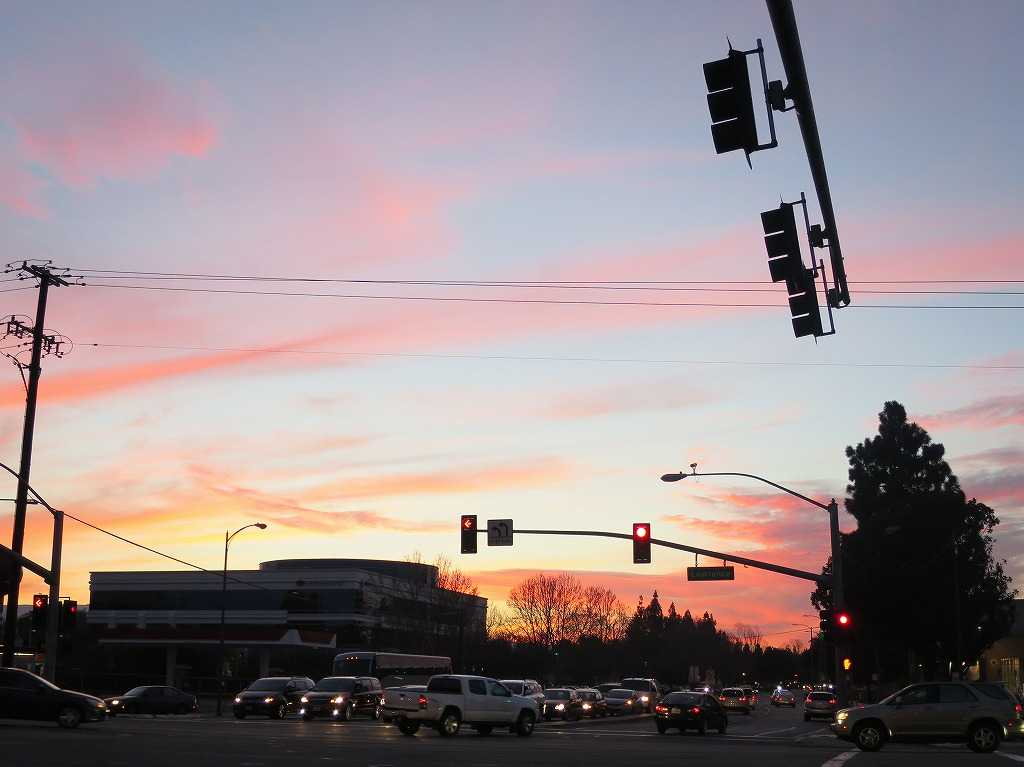 ローレンス - 真っ赤な夕陽