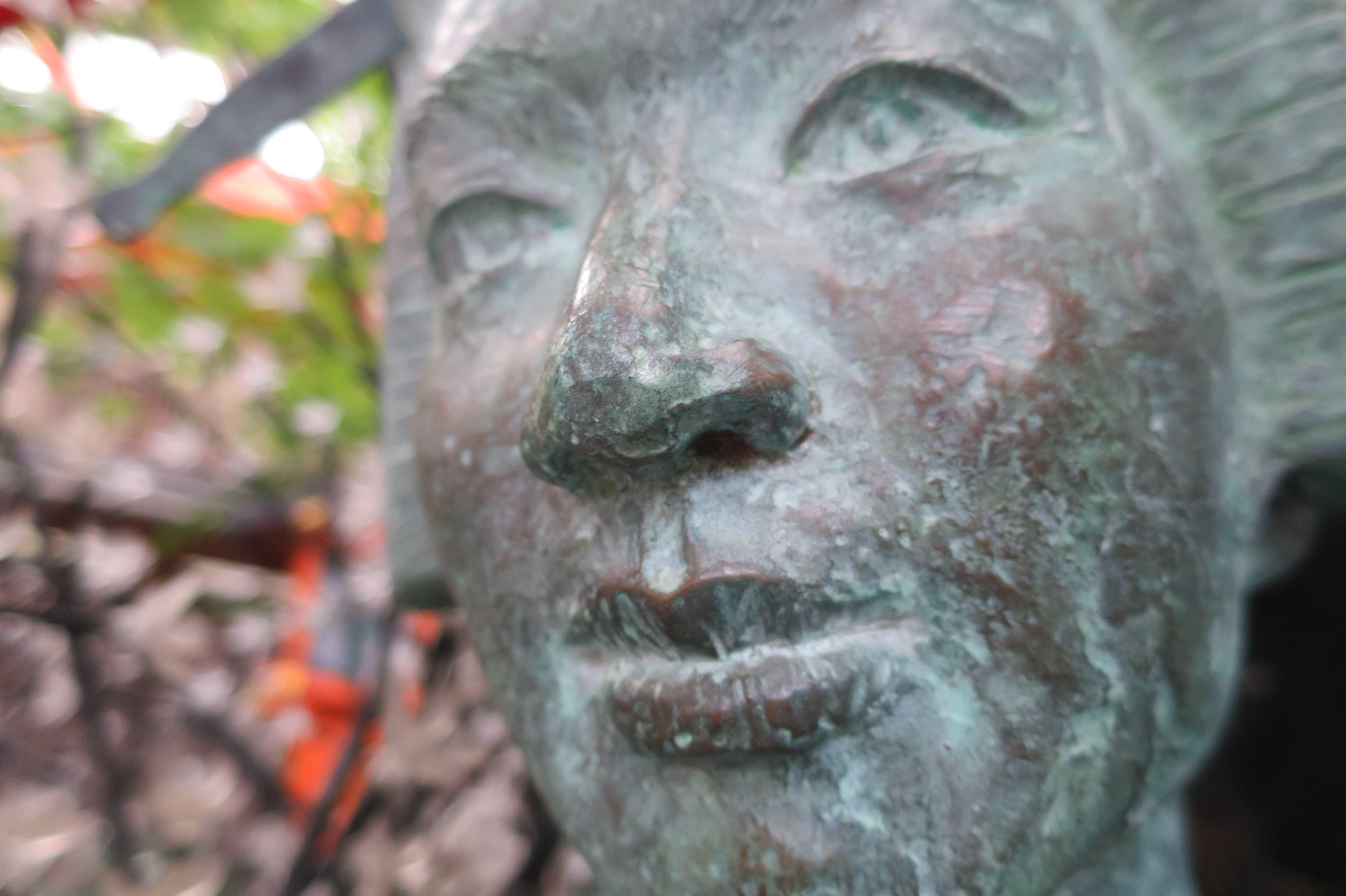 曽根崎心中・お初の銅像(ブロンズ像)