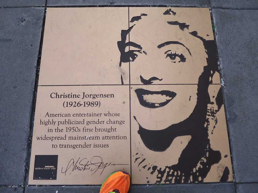 Christine Jorgensen(1926-1989)… 性別適合手術をして世界初の人