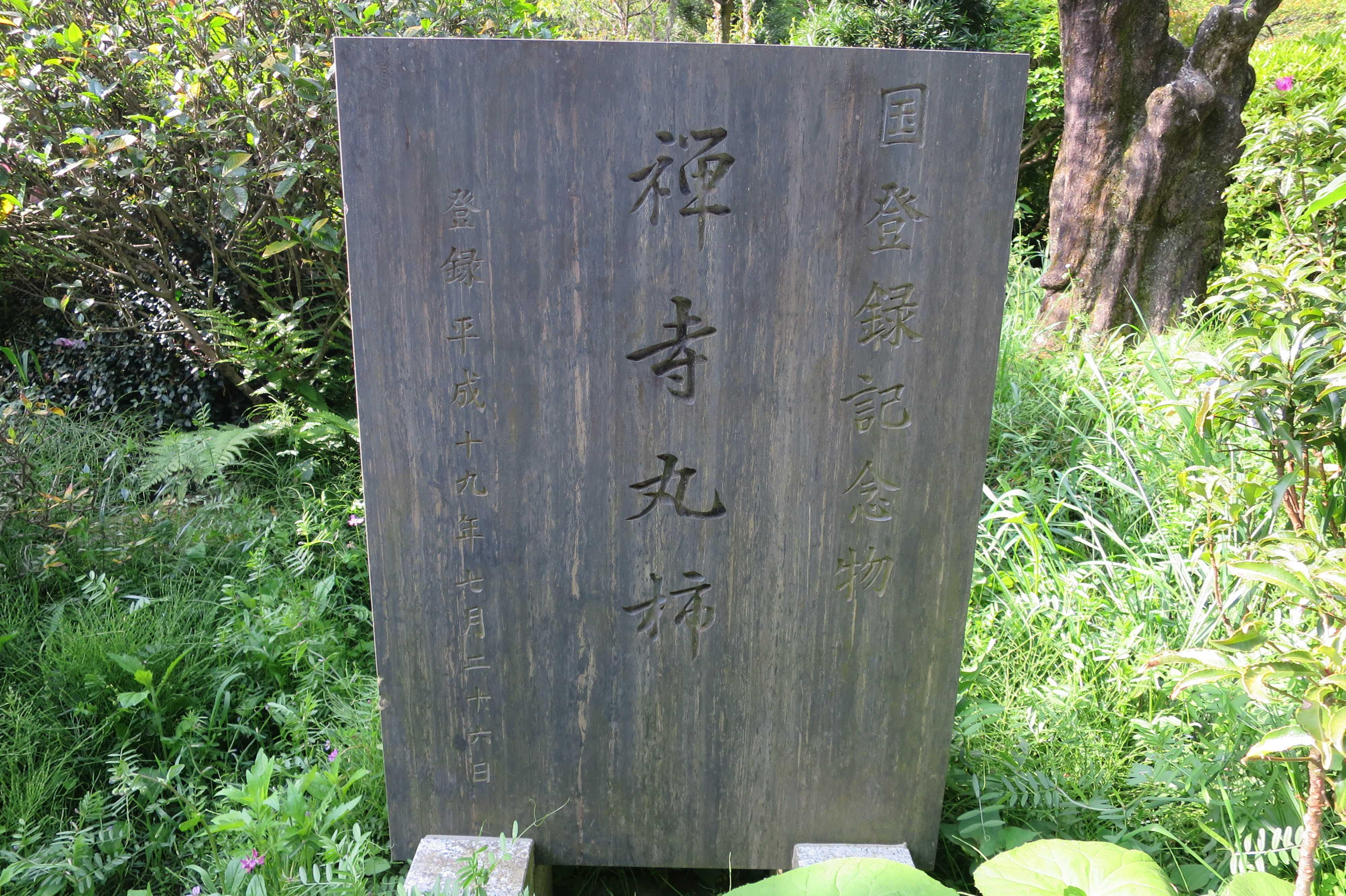 国登録記念物 禅寺丸柿 登録平成19年7月26日