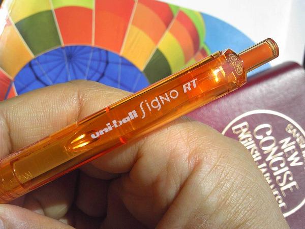 三菱鉛筆のボールペン シグノRT