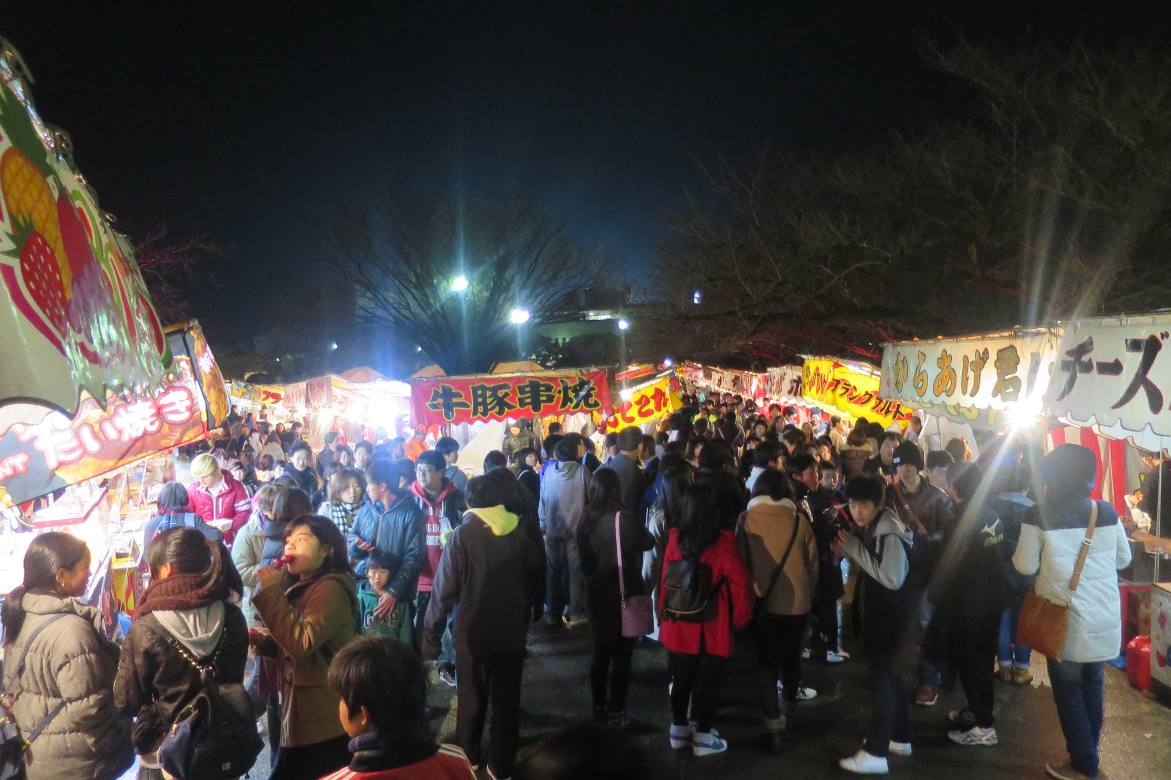西大寺会陽 - 露店
