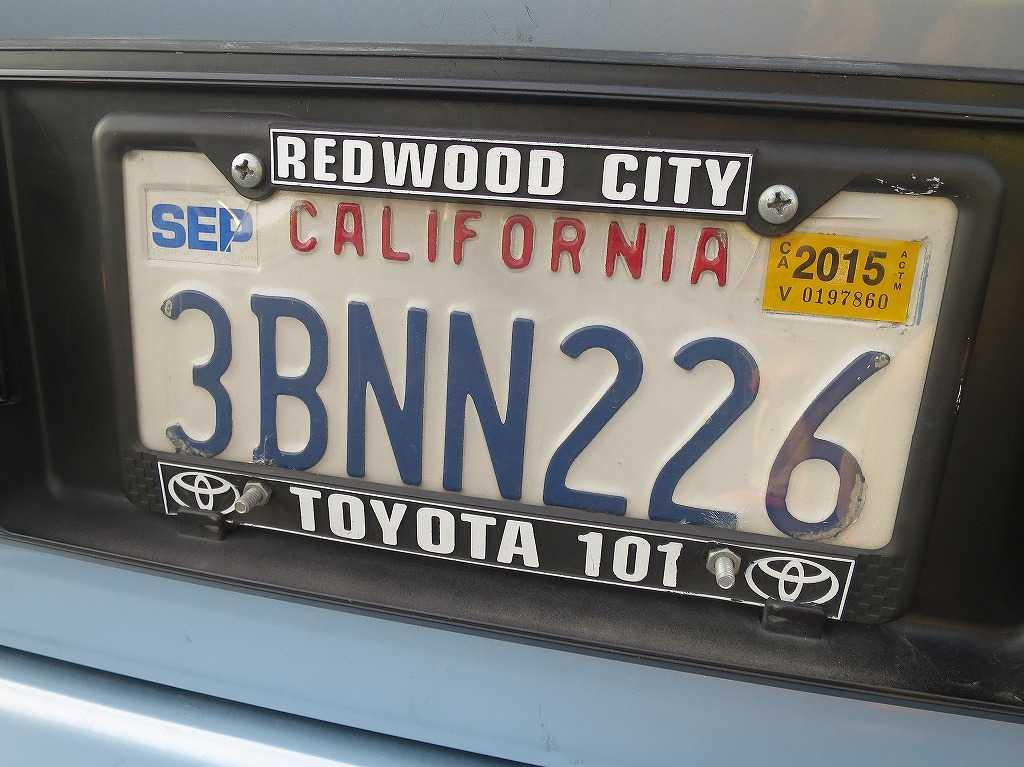 カリフォルニア - 車のナンバープレート