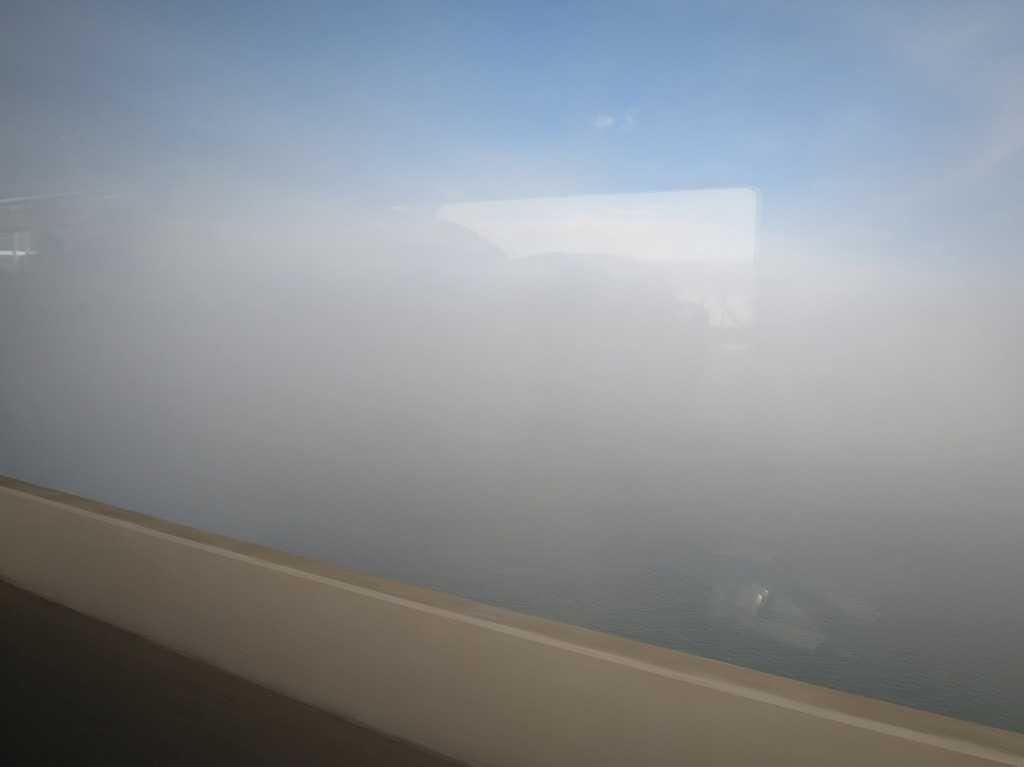 サンフランシスコ湾の霧