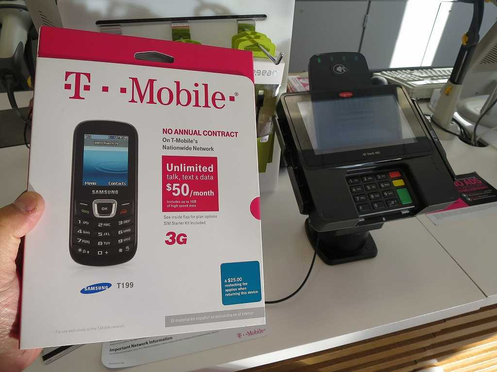 T-Mobile SAMSUNG T199