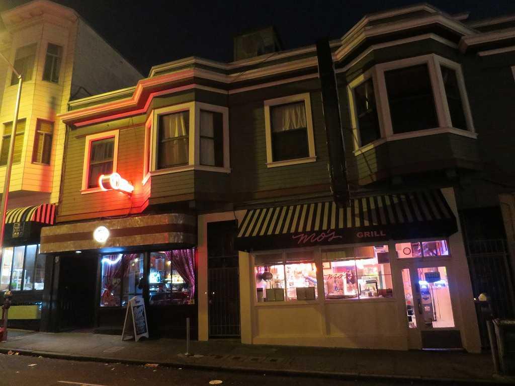 夜のサンフランシスコ市内