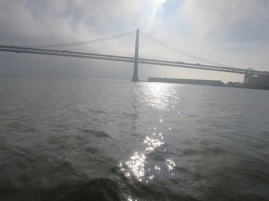 輝くサンフランシスコ湾
